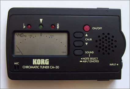 Korg CA-30 chromatic tuner